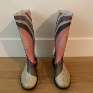 Pucci Baby Oval Rain Boots 37